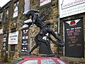 Alien outside Big D's Cafe and Bar - geograph.org.uk - 1125593.jpg