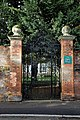 All Hallows Church Tottenham Haringey England - vicarage gates.jpg