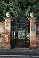 All Hallows Church Tottenham Haringey England - vicarage gates.jpg