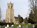 All Saints church in Alburgh - geograph.org.uk - 1770481.jpg