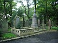 All Saints with St John the Baptist Church, Burnley, Graveyard - geograph.org.uk - 994225.jpg