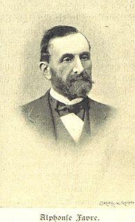 Alphonse Favre Swiss geologist and mineralogist