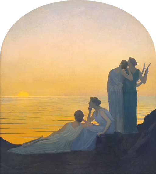 Alphonse Osbert, Soir antique (1908)