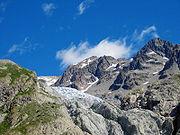 Gletscher im Rückzug