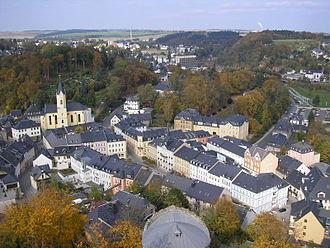 Bad Lobenstein - Image: Altstadt Bad Lobenstein
