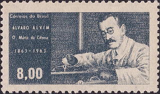 Álvaro Alvim Brazilian physician (1863-1928)