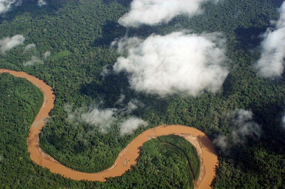 Amazonia boliviana desde el aire