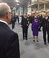 Amb Johnson at Commissioning Ceremony for HMS Elizabeth.jpg