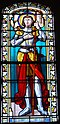 Ambeyrac Church Stained Glass Joan of Arc.JPG