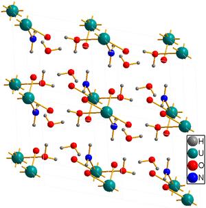 Ammonium diuranate - Image: Ammonium Uranate