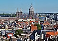 Amsterdam Oude Kerk Blick vom Turm auf die Basiliek H. Nicolaas 1.jpg