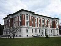 Amstetten Hospital, where 19 year old Kerstin Fritzlar arrived ill, and from which the authorities learned of the case.