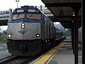 Amtrak Wolverine at Ann Arbor station, August 2009.jpg