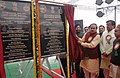 Ananthkumar unveiling the plaque to lay foundation stone of the Boys & Girls Hostel of Central Institute of Plastic Engineering and Technology (CIPET), at Sonipat, in Haryana on January 20, 2015.jpg