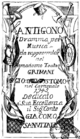 Andrea Bernasconi - Antigono - titlepage of the libretto - Venice 1745.png