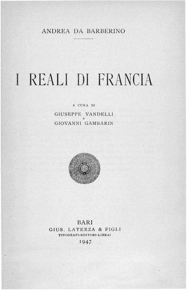 File:Andrea da Barberino – I reali di Francia, 1947 – BEIC 1731888.pdf
