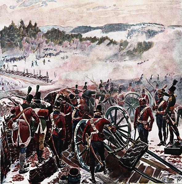 Andreas Bloch - Kampen ved Lier 1808