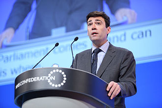 Andy Burnham - Burnham speaking at the NHS Confederation annual conference in 2014