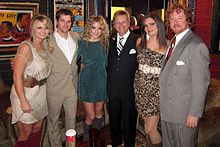 Angaleena Presley with the Pistol Annies and band in 2011.jpg