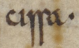 Cissa of Sussex - A mention of Cissa, the Ælle's son, in the Anglo-Saxon Chronicle