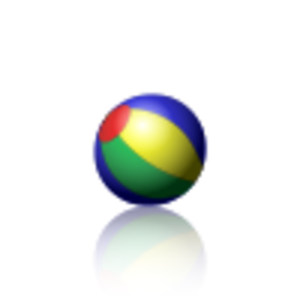 APNG - Image: Animated PNG example bouncing beach ball