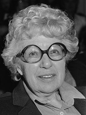 Annie M. G. Schmidt - Schmidt in 1984