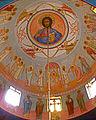 Annunciation Cathedral (Jerusalem) Fresco of Christ Pantocrator.jpg