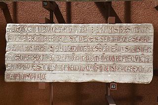 Épitaphe et fondation obituaire de Berengarius