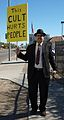 Anonymous protests Scientology in Phoenix on February 10th 9.jpg