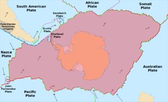Antarctic Plate - Image: Antarctic Plate