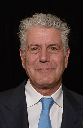 Bourdain in 2014