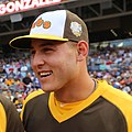 Anthony Rizzo during the T-Mobile -HRDerby. (28291311380) (croppedA).jpg