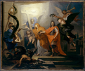 Antoine Rivalz, An Allegory, Probably of the Peace of Utrecht of 1713.png