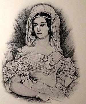 Marie Antoinette Murat - Image: Antoinette Murat Fürstin von Hohenzollern Sigmaringen