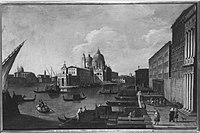 Antonio Canaletto (Canal) (Nachahmer) - Santa Maria della Salute und die Dogana - 6232 - Bavarian State Painting Collections.jpg