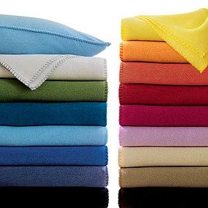 Polar fleece - Blankets made out of polar fleece.