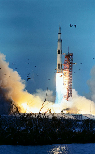 Apollo 9 - Apollo 9 launches from Kennedy Space Center, March 3, 1969