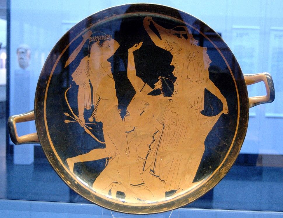Apollo Tityos Staatliche Antikensammlungen 2689