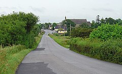 Approach to Teemore, Co. Fermanagh - geograph.org.uk - 1385831.jpg