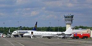 Leipzig–Altenburg Airport - Ramp at Leipzig–Altenburg Airport