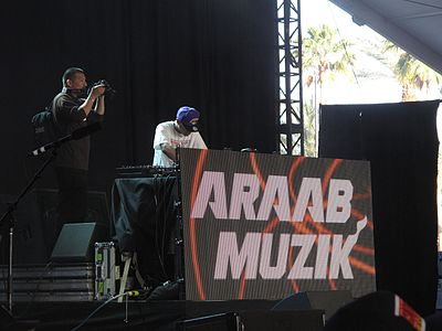 Picture of a band or musician: Araabmuzik