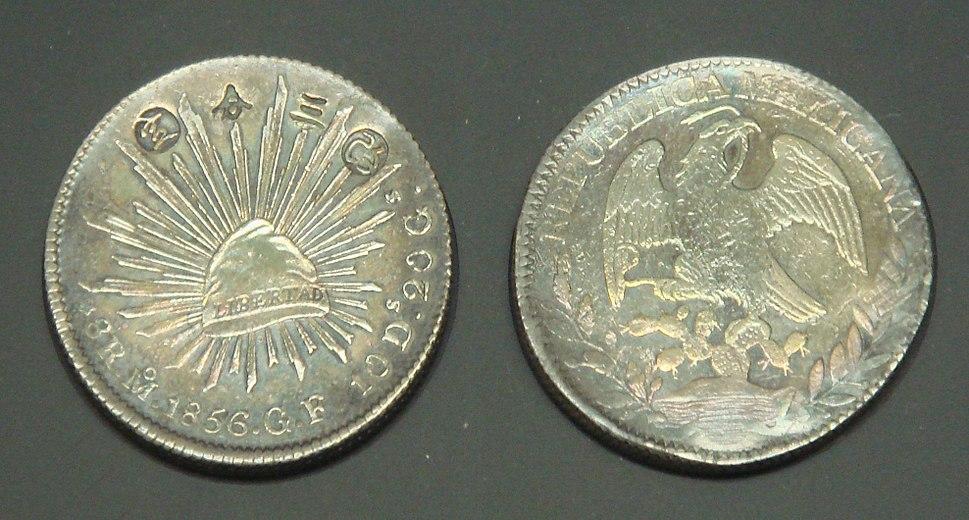 Aratame sanbu sadame silver coin 1859 Japan