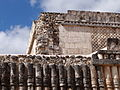 Architectural Detail - Uxmal Archaeological Site - Merida - Mexico - 03.jpg