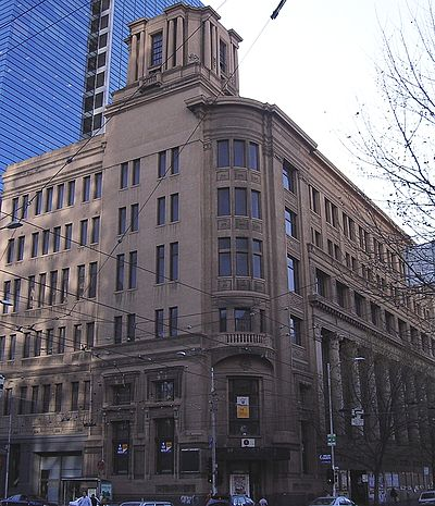 The argus building opened in 1926 on la trobe street as for Godfrey design build