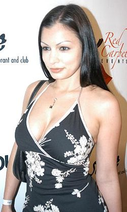Aria Giovanni at Cassia Riley's Thursday Night Party At Basque 6.jpg