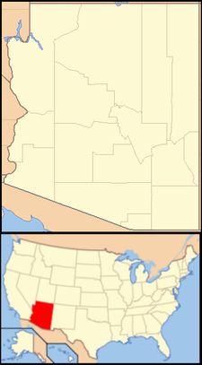 Parker is located in Arizona