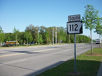 Arkansas Highway 112 - Highway 112 south of the junction with MLK Blvd.