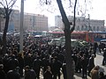 Armenian Presidential Elections 2008 Protest Day 11 - French Embassy Demonstration surrounding APC 130pm.jpg