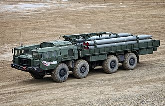 BM-30 Smerch - 9T234-2 transporter-loader of 9K58