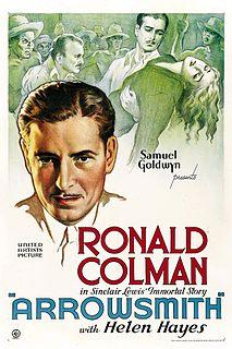 <i>Arrowsmith</i> (film) 1931 film